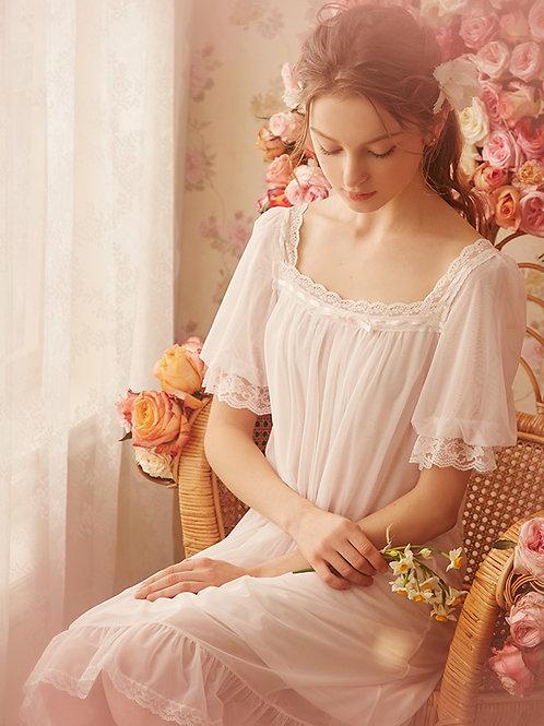 Victorian Silk Nightgown