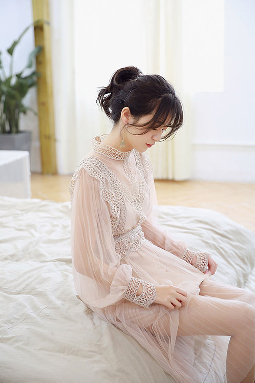 Two Piece Fairy Lace Dress
