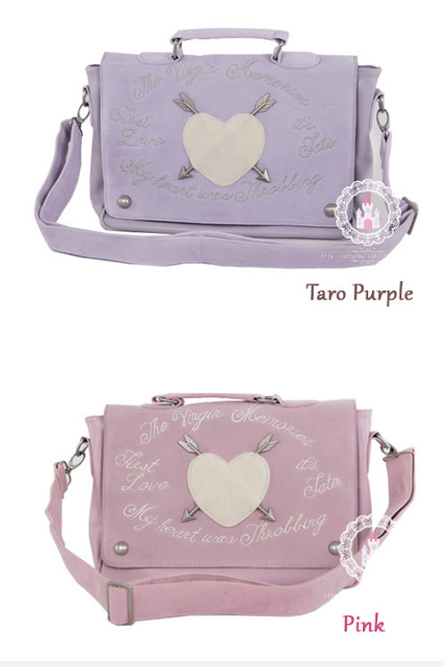 Harajuku Arrow Hearts Messenger Bag