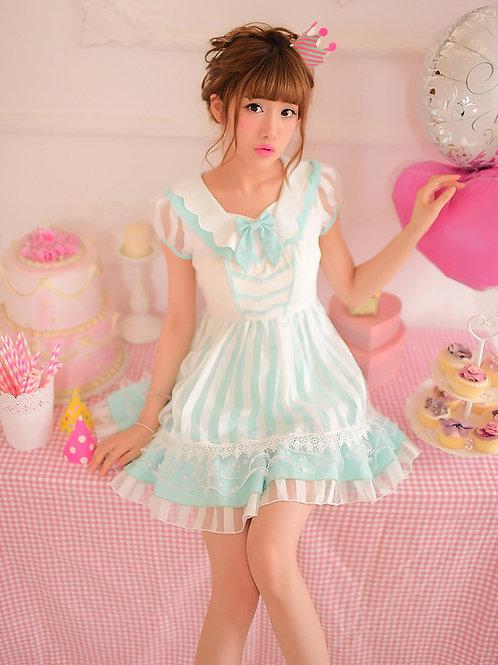 Ice Princess Chiffon Dress