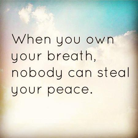 נשימה והתמודדות עם כאב