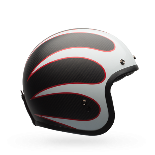Bell Custom 500 Carbon Open-Face Motorcycle Helmet