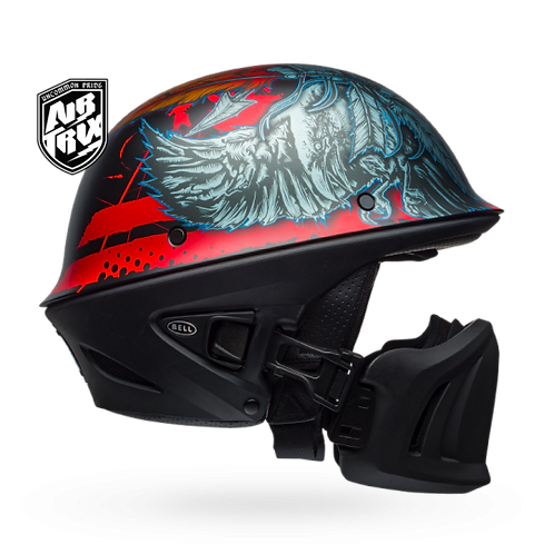 Bell Rogue Half Size Motorcycle Helmet