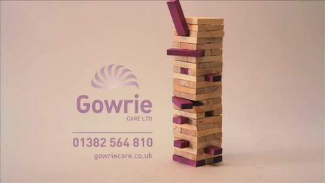 """Jenga"" for Gowrie Care"