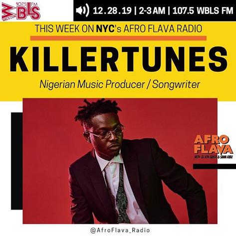 KillerTunes | Afrobeats Music | Afroflava Radio