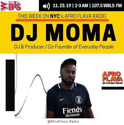 DJ Moma | Afrobeats Music