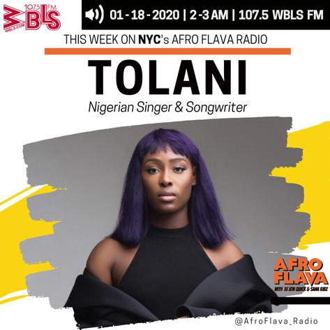 Tolani | Afrobeats Music