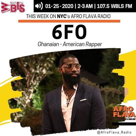 6Fo | Afrobeats Music | Afroflava Radio