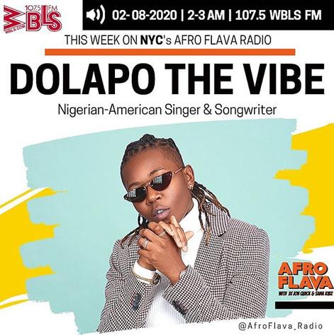 Dolapo The Vibe | Afrobeats Music | Afroflava Radio