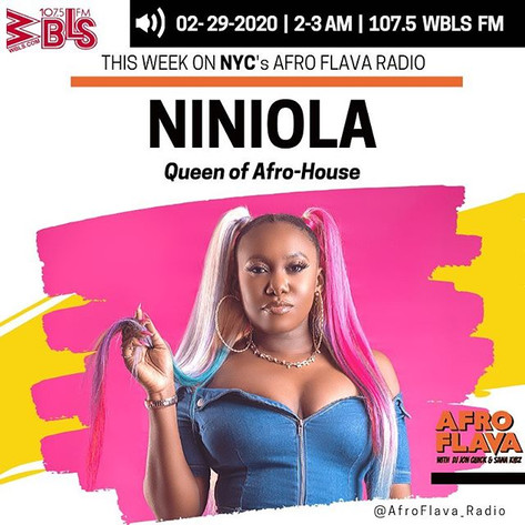 Niniola | Afrobeats Music | Afroflava Radio