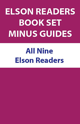 All Elson Readers, Without Teacher's Guides