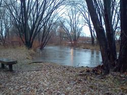 November 27, 2013 Rain Swells River