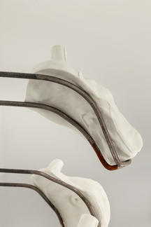 detail from 'A series of heeling part-objects'