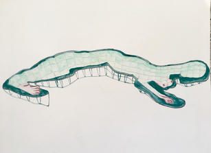 Pools of imaginary creatures