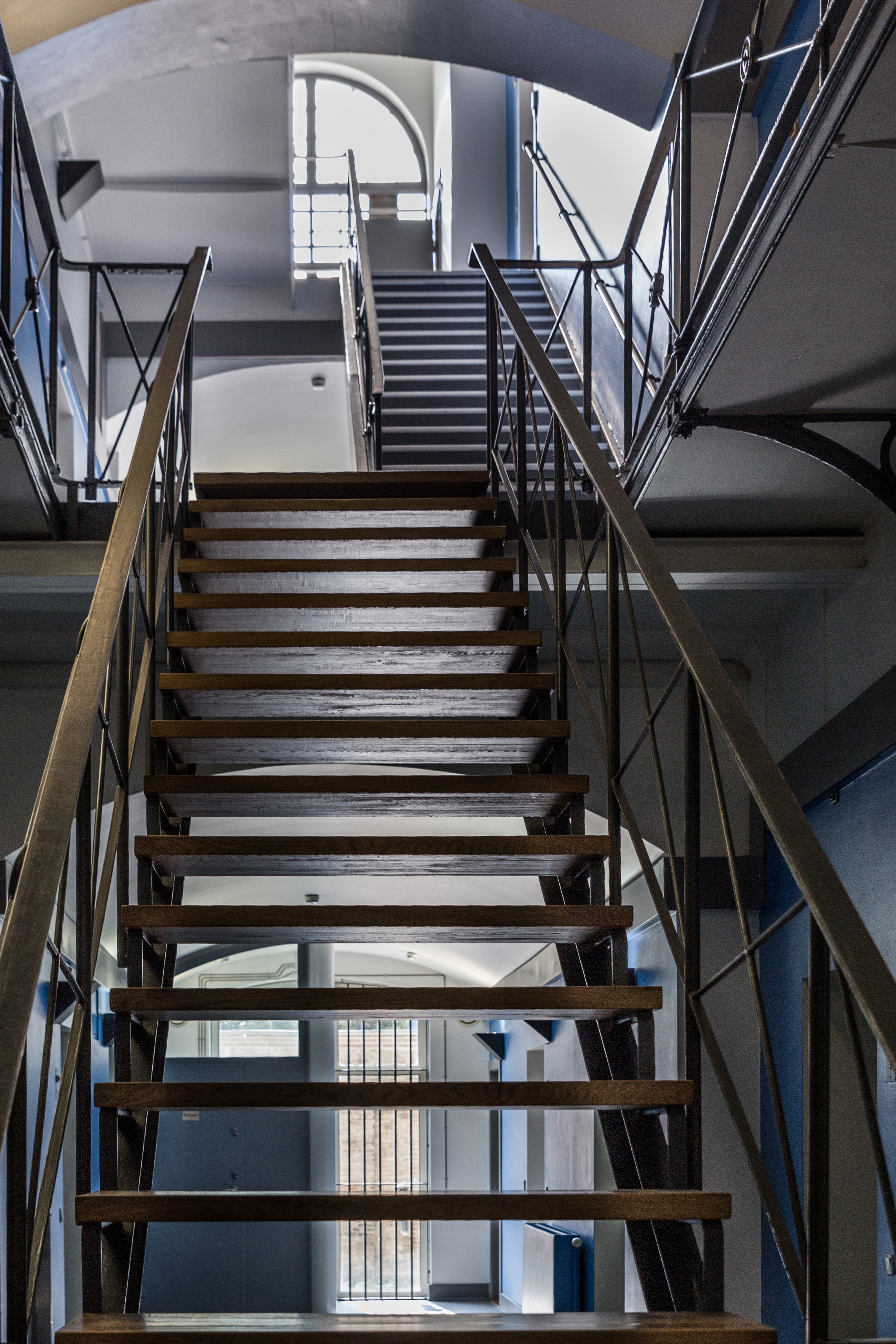 Arresthuset i Odense har tre etager