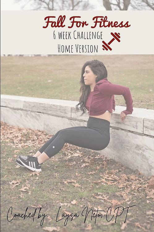 FALL FOR FITNESS & FLOURISH YOURSELF CHALLENGE