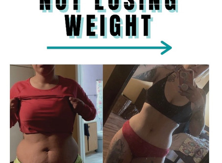 TOP 5 REASONS WHY YOU ARE NOT LOSING WEIGHT