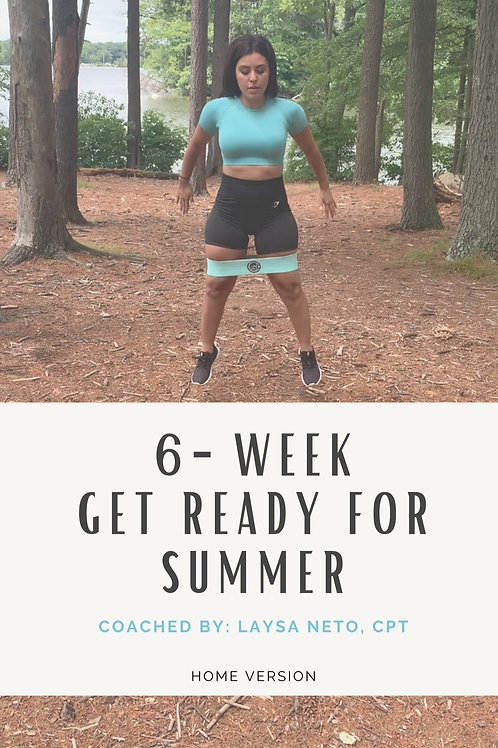 6-Week Get Ready For Summer Program: Home Version