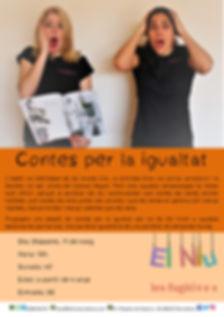 CARTELL - CONTES PER LA IGUALTAT - 11-05