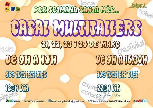 Casal multitallers