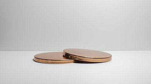 Large Rose Gold Lid - 3 Wick Candle