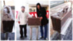 豊岡鞄ストリート「カバストマルシェ&カバンモニュメント除幕式」