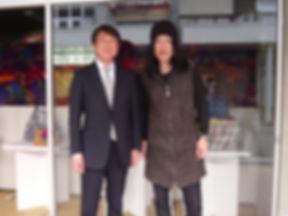 由利佳一郎&豊岡 中貝市長