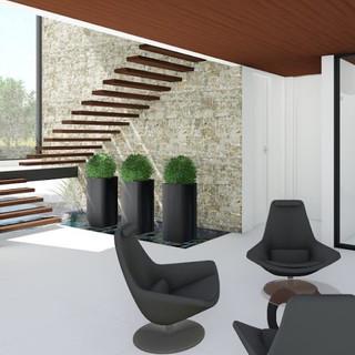 Escada Flutuante - Elegância e Modernidade - Condomínio Terras de São José II Itu - SP