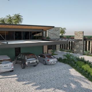 Residência Estrutura Metálica - Cambuí - MG