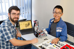 At Atop your school aged child can learn Robotics with our trained tutors