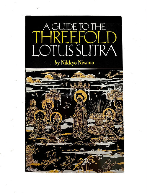 A Guide to the Threefold Lotus Sutra