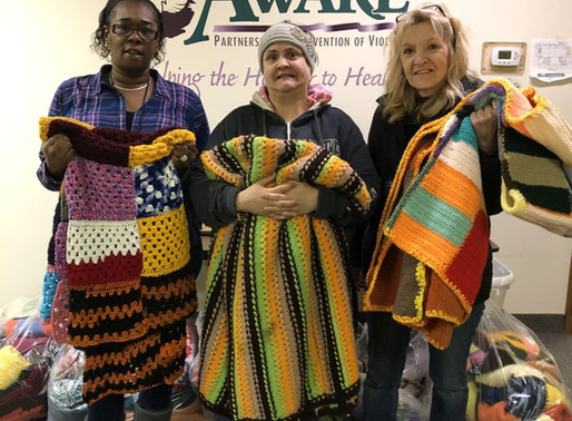 Giving Back, One Blanket at a Time.