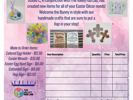 Stock up on Easter Goodies from Studio C and It'Sweet!!!