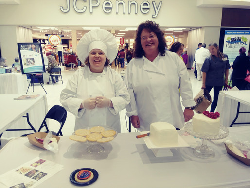 It'Sweet's Pastry Chef, Wanda Bigler Shows Her Skills at V2 Expo