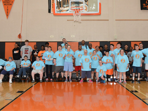 1st- Annual Julie Cox Basketball Skills Camp experiences great turn-out for inaugural event.