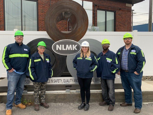 NLMK Hosts Tour to Group from WLS & SVCC