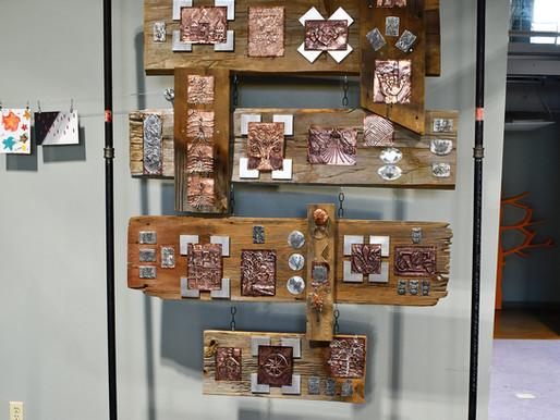 WLS Metalsmithing Class Participants Unveil Traveling Exhibit