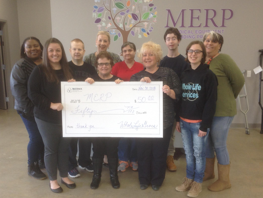 Whole Life Donates to MERP