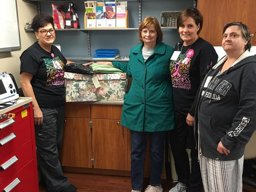 Chemo Care Bags Help Deliver Comfort