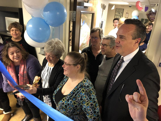 Whole Life Services man gift shop named after special volunteer