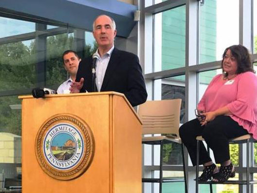 Whole Life's CEO Among Those in Attendance for Senator Casey Visit to Shenango Valley