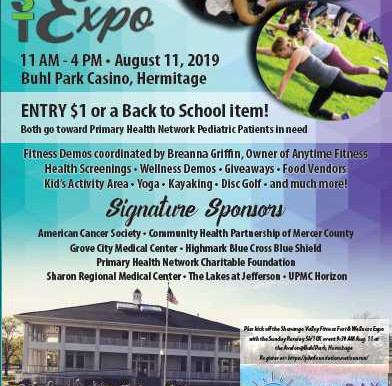 Upcoming: Shenango Valley Fitness Fest & Wellness Expo