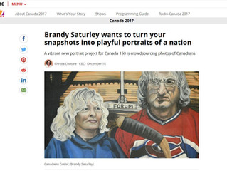 CBC Features The People of Canada Portrait Project