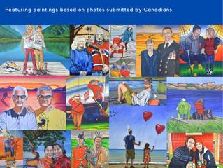 The People of Canada Portrait Project - Inaugural Exhibition Open NOW!