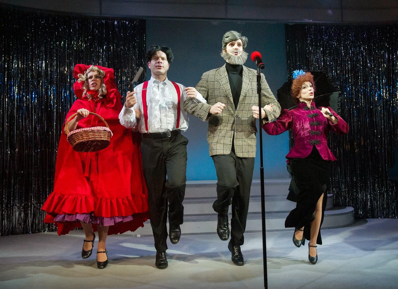 Forbidden+Broadway+by+Gerard+Alessandrini.+Anna+Jane+Casey,+Damian+Humbley,+Ben+