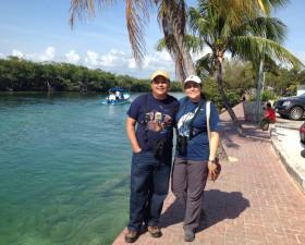 Cecy Alvarez & Juan Flores of Green Jay Mayan Birding