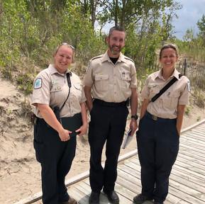 Wasaga Provincial Park Ontario biologists