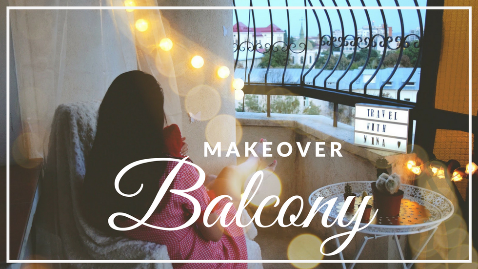 DIY: Transformarea balconului in 8 pasi
