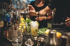 Konrad Company - Preparing Cocktails
