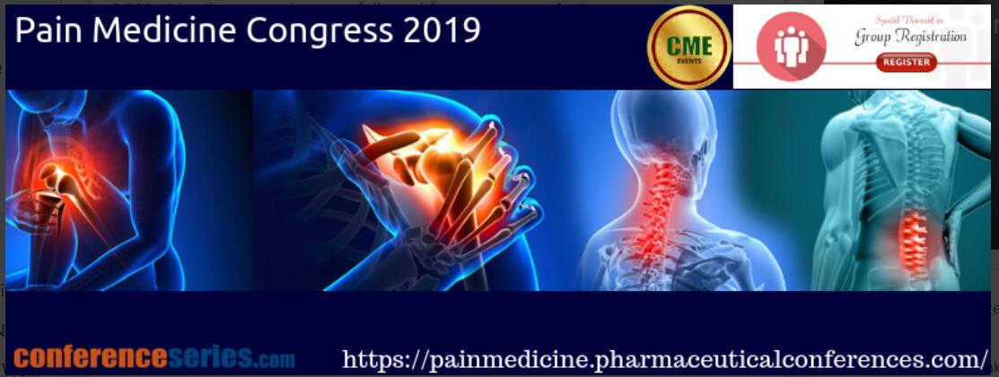 Pain Medicine Congress 2019